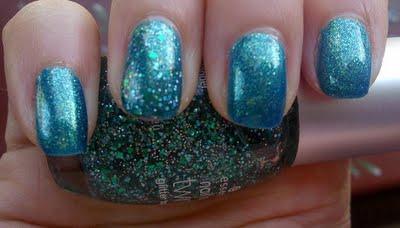 NOTD: Essence Choose Me! & Glittertopper Edward