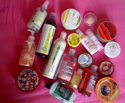 Mijn producten van The Body Shop