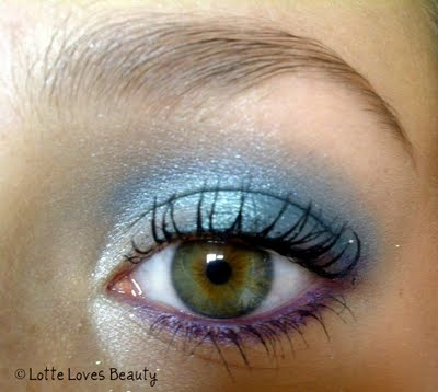 Playing with my Urban Decay palette