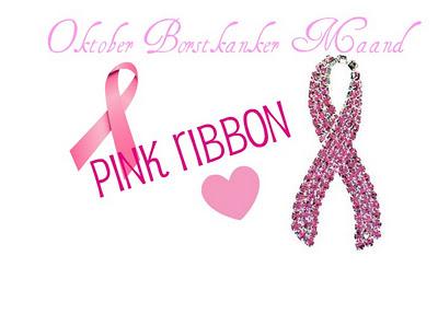 Oktober Borstkanker Maand – Pink Ribbon