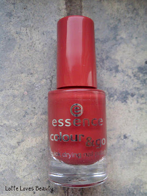 NOTD: Essence Reach Peach