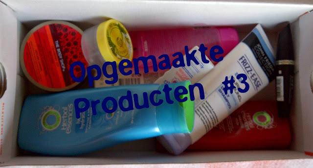 Opgemaakte Producten #3