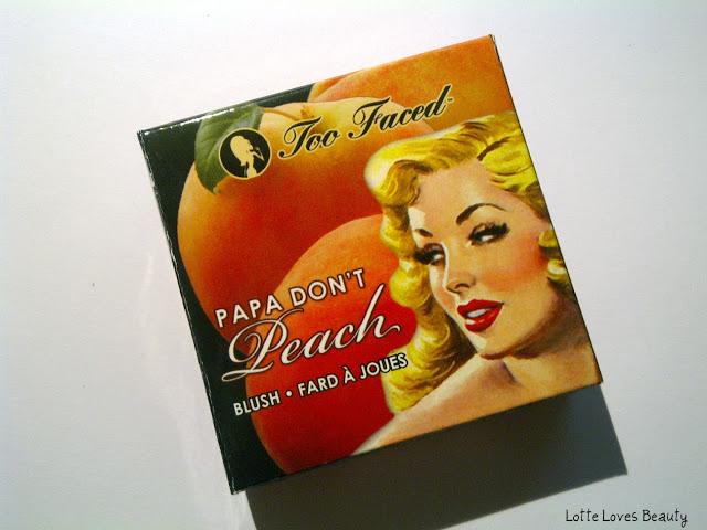 Too Faced Blush: Papa Don't Peach