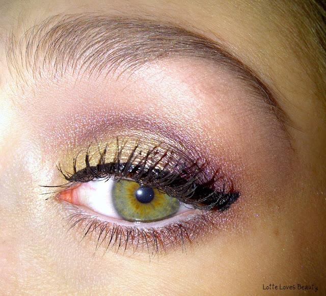 Purple & Gold – (Kerst) look