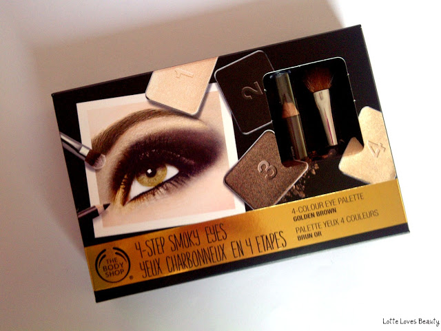 The Body Shop 4-Step Smoky Eyes Palette