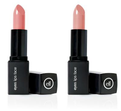 ELF Mineral Lipsticks in Nicely Nude en Runway Pink