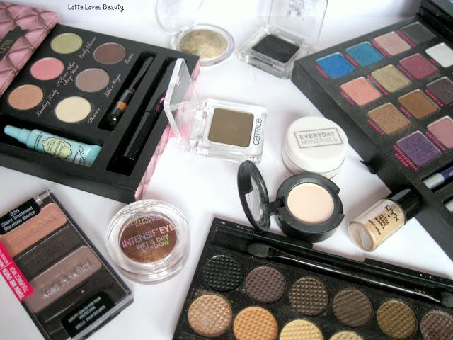 Eyeshadow favourites