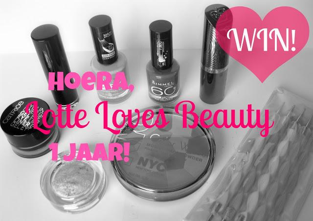Winactie om het éénjarig bestaan van Lotte Loves Beauty te vieren!