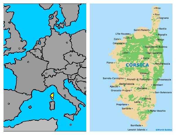Vakantiehuizen op het paradijselijke Corsica met Charme Quality