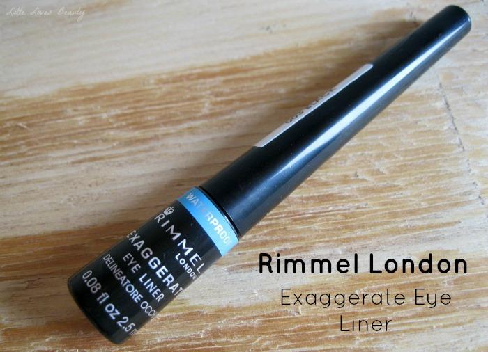 Rimmel Exaggerate Waterproof Eye Liner
