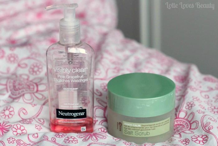 Producten onder de douche