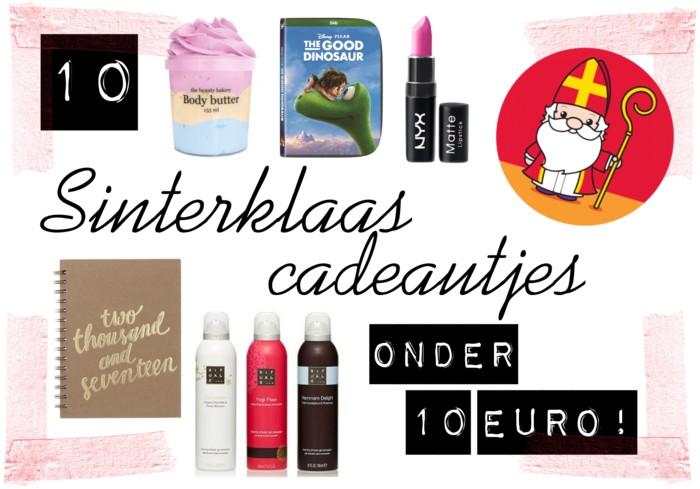 10 Sinterklaascadeautjes onder €10!