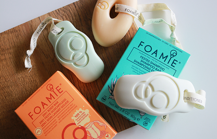 Foamie Shampoo, Conditioner & Body Bar