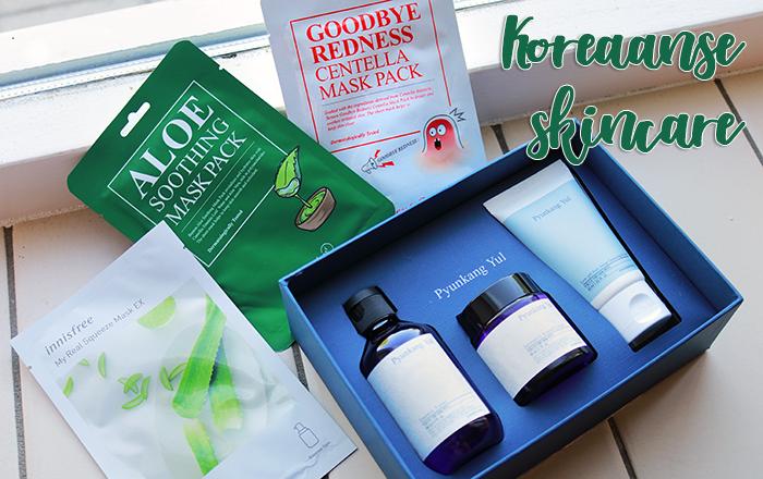 Koreaanse skincare – Pyunkang Yul Skincare Set