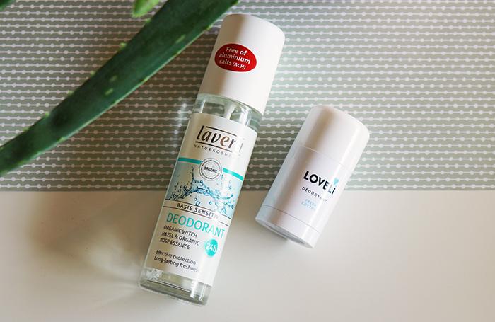 Dierproefvrije deodorant: Loveli Deodorant & Lavera Basis Sensitiv Deodorant