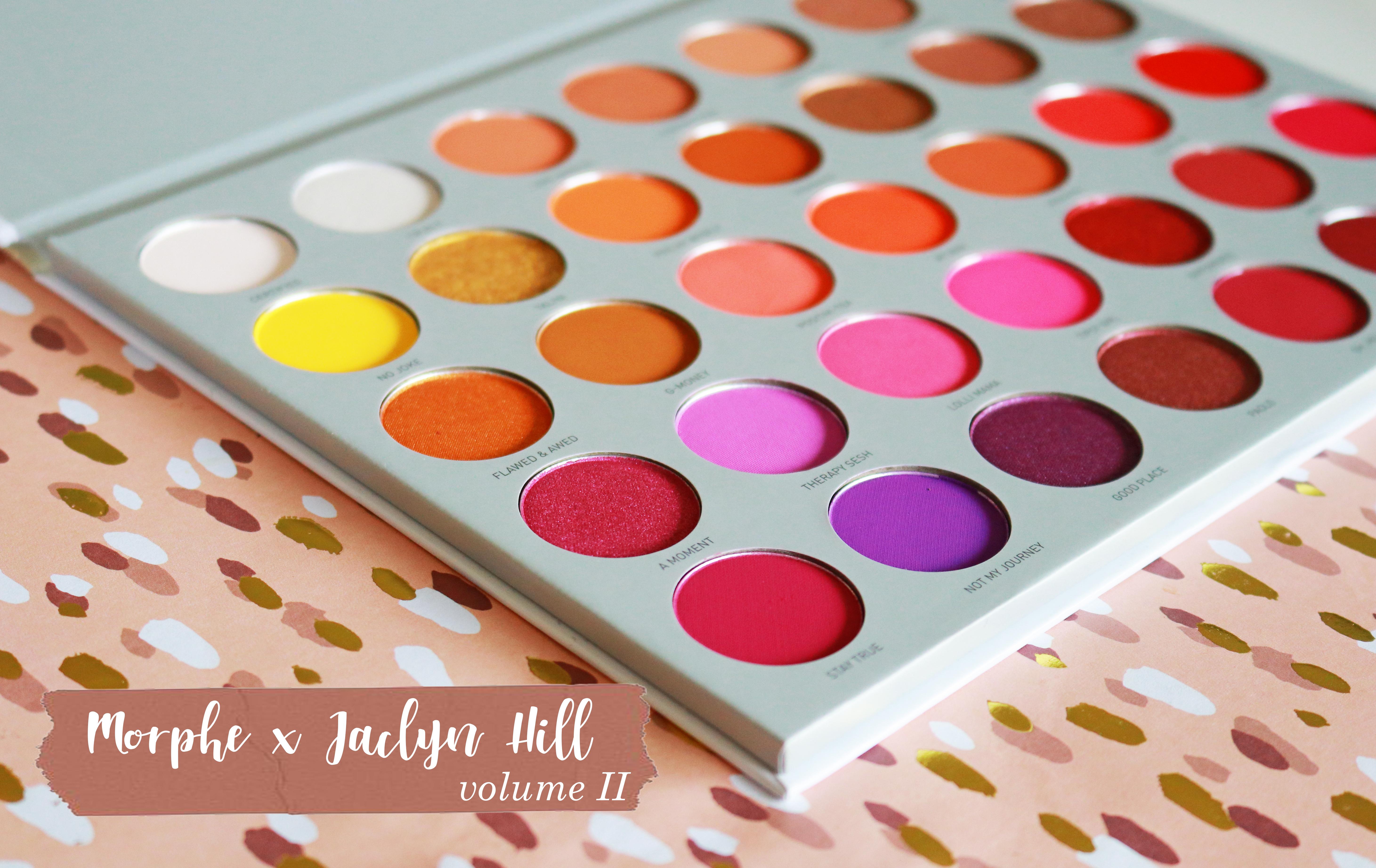 Morphe Jaclyn Hill Palette Volume II